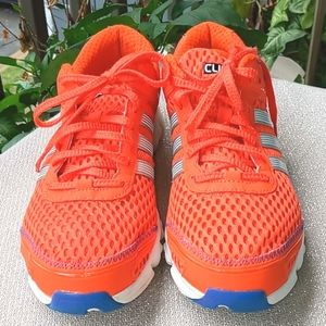 """Adidas Orange and Blue """"Climacool"""" Sneakers"""